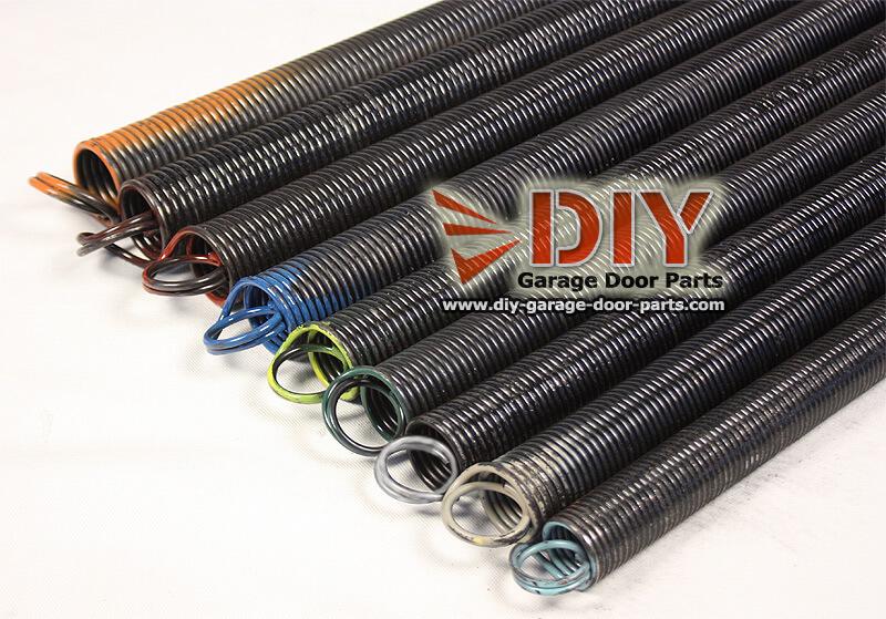 Diy Garage Door Parts For Garage Door Springs Replacement Hardware