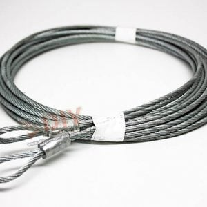 "1/8"" 7 x 19 Extension Cable Assembly fits 8 ft high garage door"