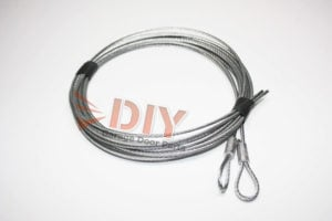 Garage Door Safety Restraint Cables