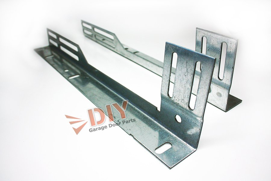 Diy Garage Door Parts Universal Slotted Flag Bracket 1