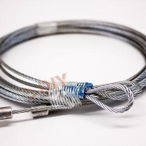 garage door torsion cables - 8ft Torsion Cables 3/32""